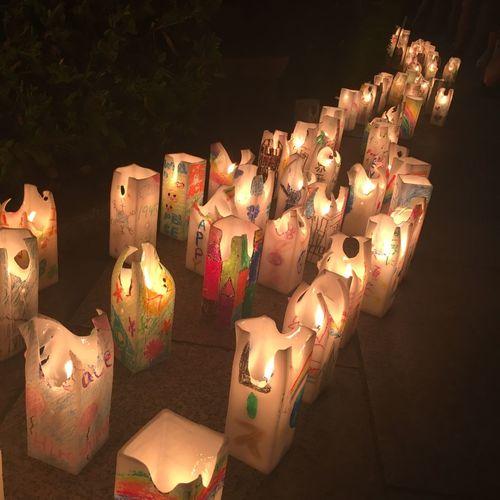 Candle lights to the peaceful world Peacepark Hiroshima Peace Illuminated Large Group Of Objects Celebration Decoration Lighting Equipment No People Candle Night