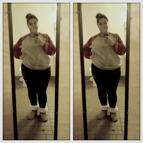 bad mirror  but Oh well! my fit for today