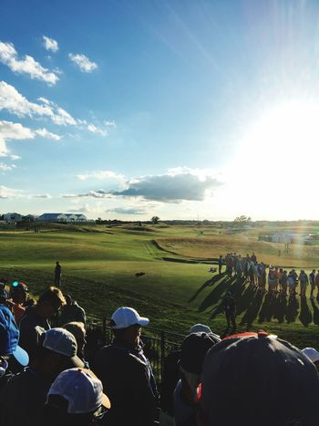 Sunday at the US Open First Eyeem Photo Usopen Golf