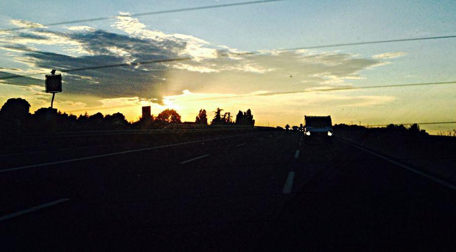 Goodmorning GoToWork Sunset