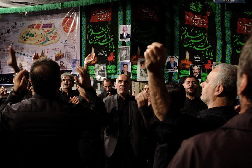 Ashura Cultures Front View Grand Bazaar Iran Men Prayer Real People Tehran First Eyeem Photo