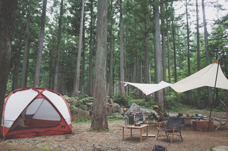 2016.7.2.sat. 1泊2日のcamp。 Camp キャンプ ひるがの高原キャンプ場 Tent テント Msr Outfitter ストームキング