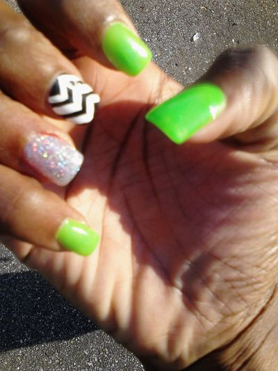 Yesterday I Went and Got My Nails Done For My Birthday