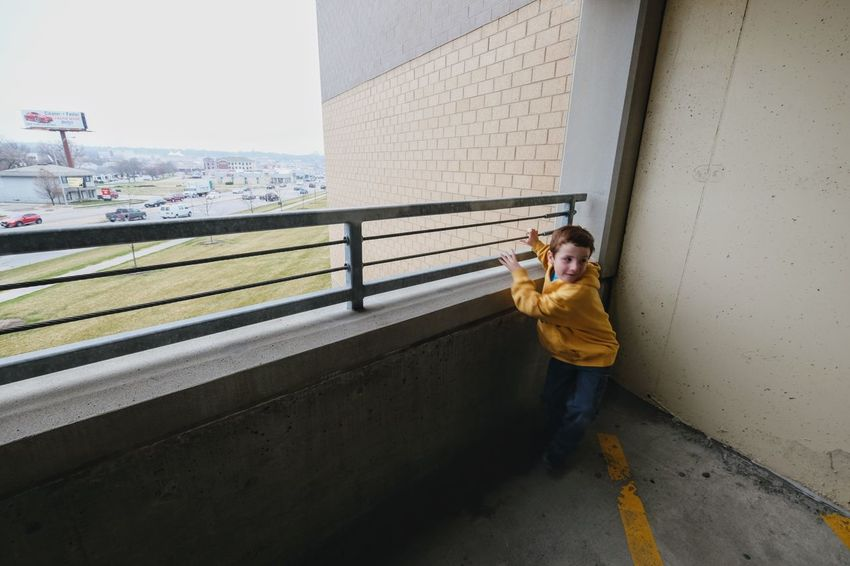 Visual Journal March 2017 Omaha, Nebraska America Building Exterior Built Structure Candid Portraits Casual Clothing Children's Hospital  Composition Everyday Lives EyeEm Best Shots EyeEm Gallery Focal Point Full Length Kids Being Kids Kids Of EyeEm Leading Lines Omaha, Nebraska One Person Parking Garage Photo Diary Photo Essay Real People Standing Storytelling Visual Journal