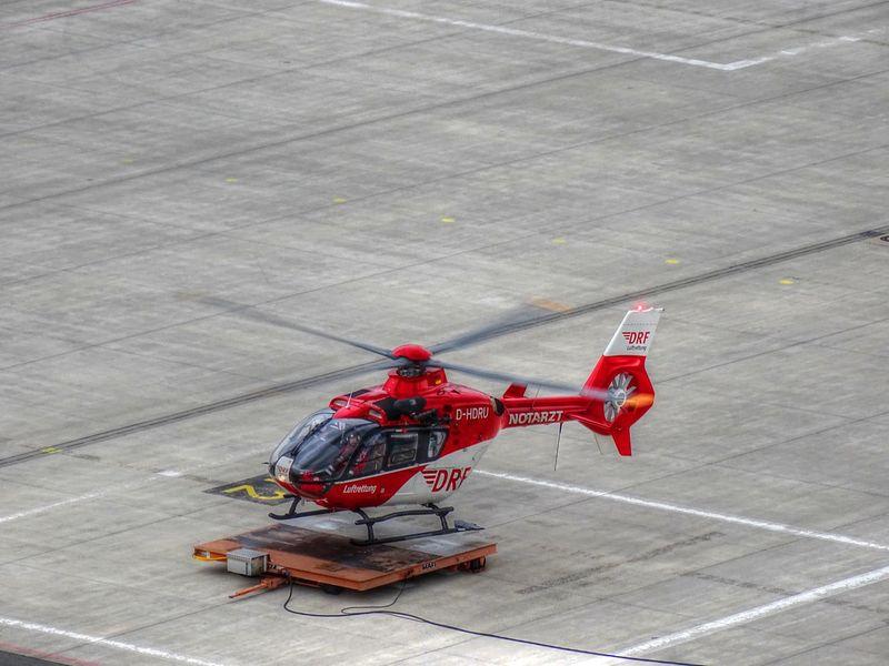 Christoph 27 / DRF - Deutsche Rettungsflugwacht Air Vehicle Aircraft Airplane Christoph 27 Drf Eurocopter Helicopter Sony Dsc Hx400v Transportation