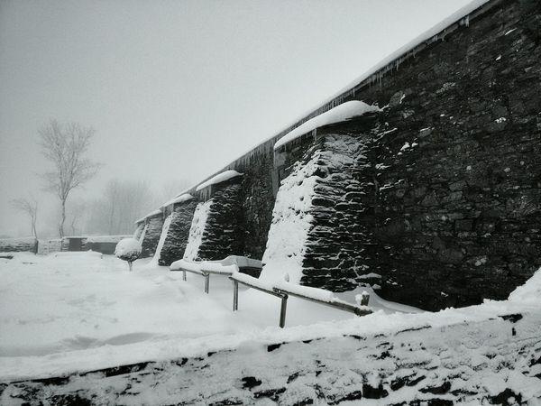 O Cebreiro. Inverno Galiza Snow Neve O Cebreiro