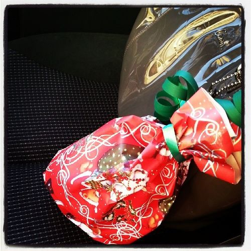 Tgif On my way to work this Morning gonna exchange Gifts with my Secretsanta :)