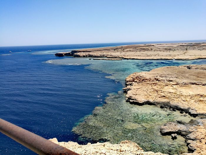Sea Beach Sunny Scenics Sand Tranquil Scene Beauty In Nature Landscape Outdoors Nature Blue Travel Destinations Water Vacations No People Egypt Sharm El-Sheikh Ras Mohamed Egypt Coral Reef RedSea