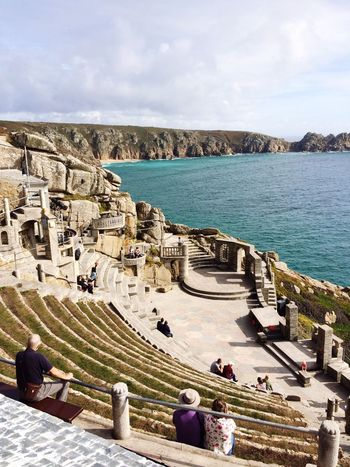 Minack Theatre Cornwall Turquiose Ampitheater Sea Coast