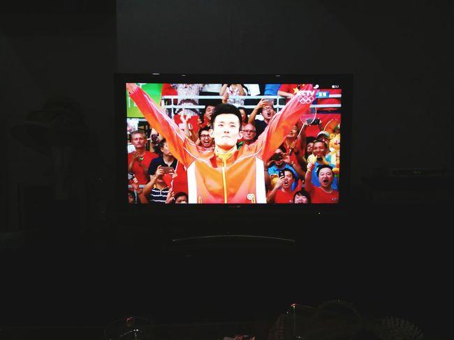 Congratulation!!!! Proud of Chen Long!!!I am sooooooooo excited! Olympicgames Badminton
