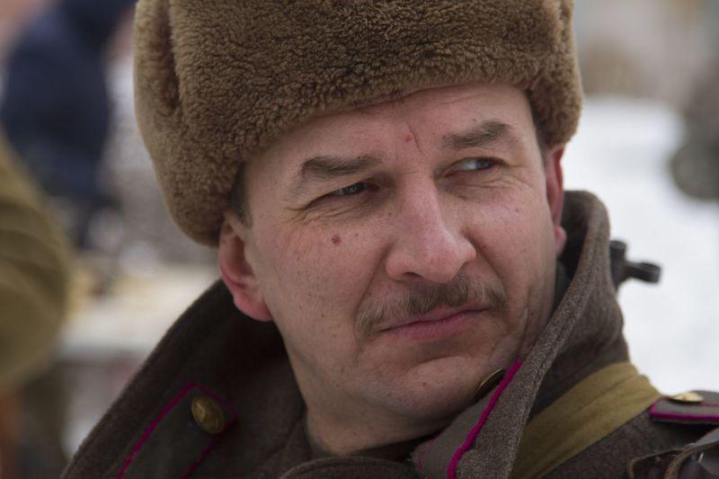 реконструкция в ЧВВАКУШ 23 февраля 2016 история СССР советский солдат