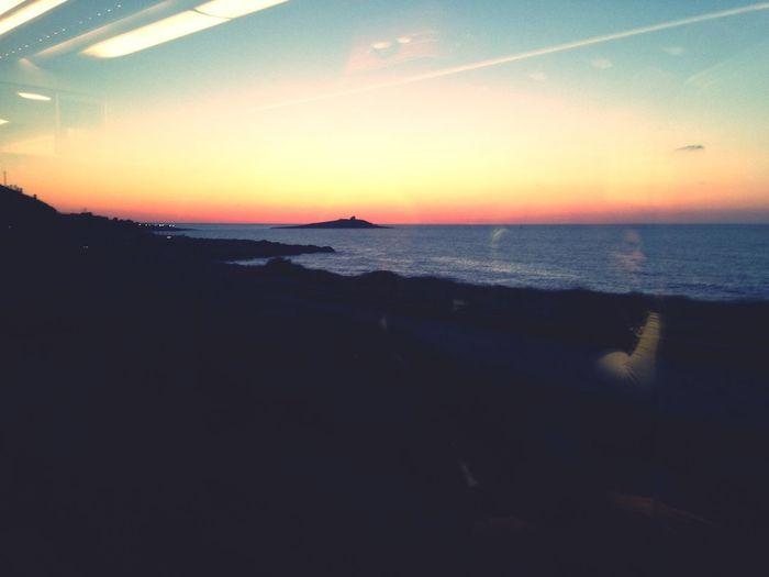 In treno: momenti in cui rimani meravigliato da certi panorami! <3