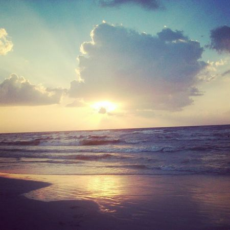 Sea Sky Beauty In Nature Nature Sunset Beach Alexandria Egypt