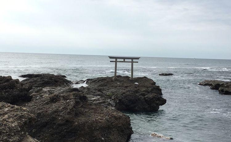 大洗 鳥居 ⛩ Sea Beach