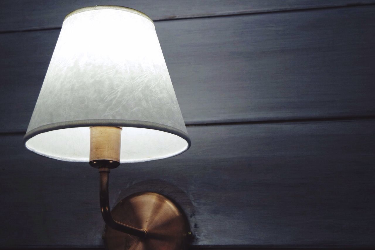 lighting equipment, illuminated, no people, electricity, single object, lamp shade, indoors, close-up, light bulb, night