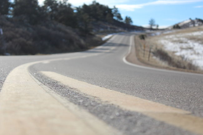 Colorado Colors Horsetooth Horsetooth Reservoir Pavement Ribo Worms Eye View