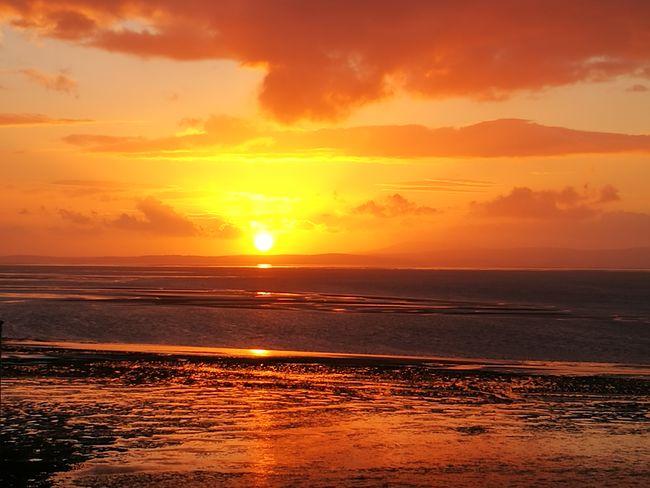 sunsets Morecambe Bay  Lancashire UK Landscape #Nature #photography