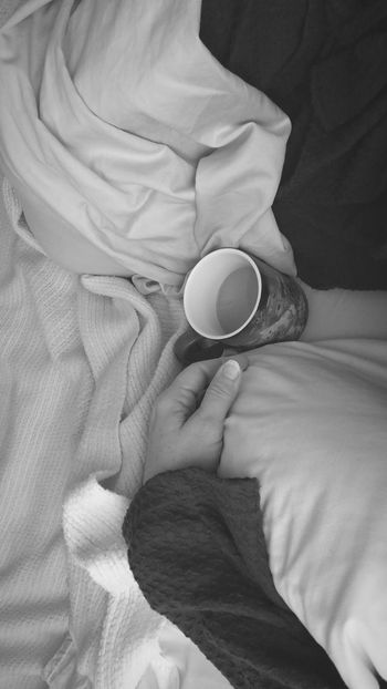 Always Be Cozy Sweet hubby's bringing coffee in bed always helps with the coziness Human Hand One Person Close-up People Indoors  One Woman Only Day Popular Photos Photography Eyemphotos Monochrome Shot In Black And White Coffee Art Cozytime EyeEm Gallery Blackandwhite
