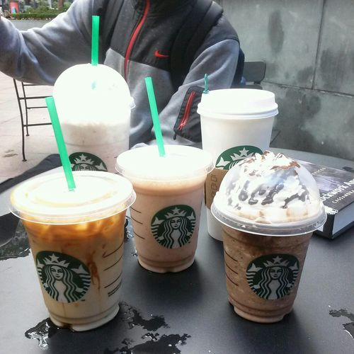 Iced Coffee Starbucks Double Chocolate Chip Frap Cappucino Starbucks enjoy the hyper life
