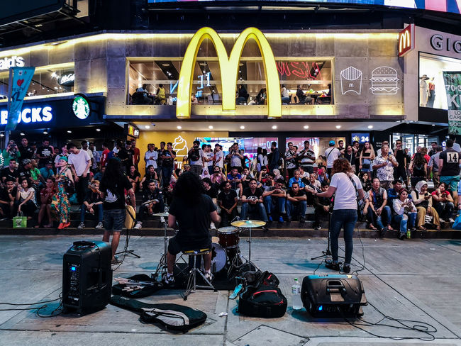 street band The Street Photographer - 2018 EyeEm Awards Ice Rink Crowd Arts Culture And Entertainment City Entertainment Occupation