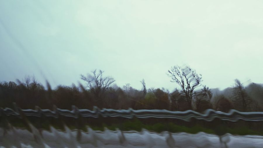 Out The Window  Rainy Rainy Day Rainy Days Driving Distorted Cool Colors The Great Outdoors - 2016 EyeEm Awards The Drive Somber Visual Creativity