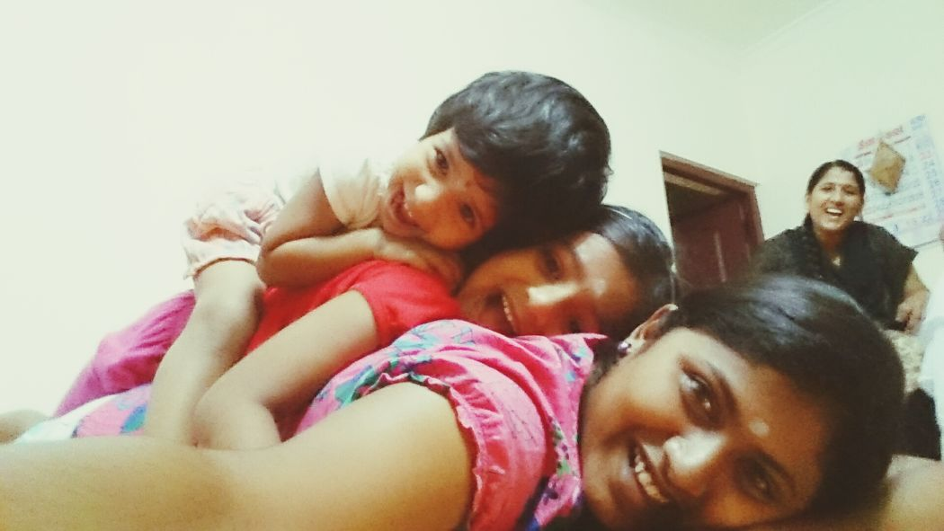Self Portrait Around The World Hello World Check This Out . It's me with Sisters ❤ Funtimes Selfie ✌ Lying On The Floor Crazy Moments we are Cute♡ naughty Happy Girls
