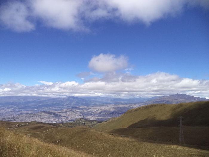 La mejor vista... 4000m Beauty In Nature Cloud - Sky Horizon Over Land Landscape Mountain Mountain Range Nature Non Urban Scene