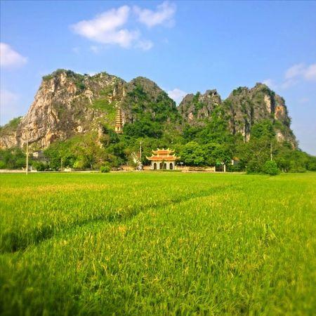 ХоаЛу. Пагода в рисовых полях. Вьетнам. Vietnam Walking Instagood Beautiful follow bestoftheday instagramers like nature monument creativity incity nokialumia1020 nokiaru