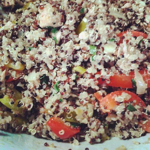 D'ora in poi...solo Quinoa Foodporn Taste Lunch Soccia Munchies Colorful Aprovecha Instafood