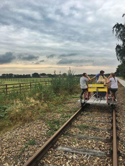 Handcar Track Rail Kids Weekend