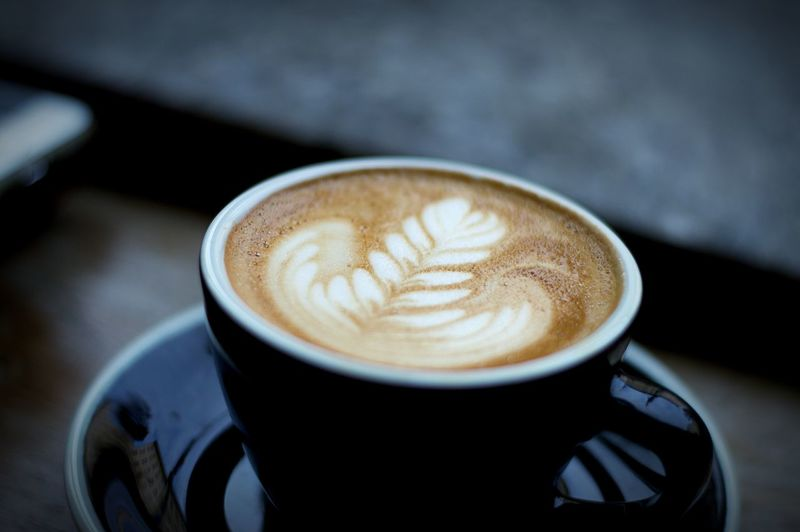 Cappuccino Latteart Coffee Cup Rosetta Drink Coffee Food And Drink Refreshment Coffee - Drink Cup Mug Frothy Drink Still Life Hot Drink Crockery Close-up Froth Art Indoors  Freshness Saucer Creativity Focus On Foreground Latte No People Froth Non-alcoholic Beverage