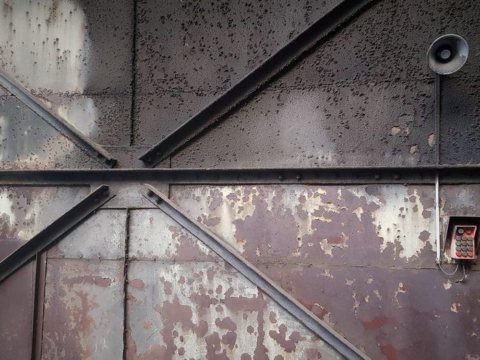 rusty wall My