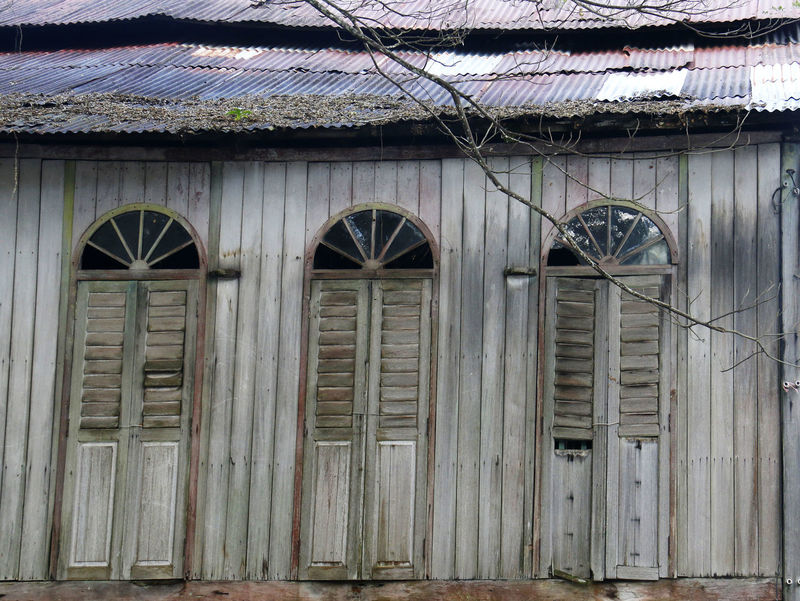 Abandoned Derelict Dilapidated Malaysia Old Pahang Rotten Rust Rusty Sungai Lembing Village Wood Wooden House Zinc Zinc Roof