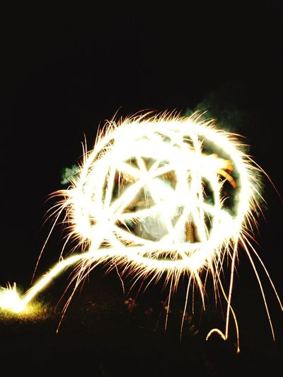 Shaping The Future. Together. Sparkler Long Exposure Nightphotography Catherine Wheel Fireworks Photography In Motion IPhoneography