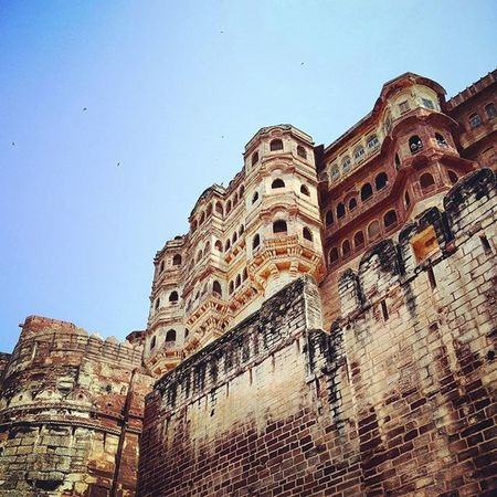 Even the hills have eyes! Mehrangarh Fort