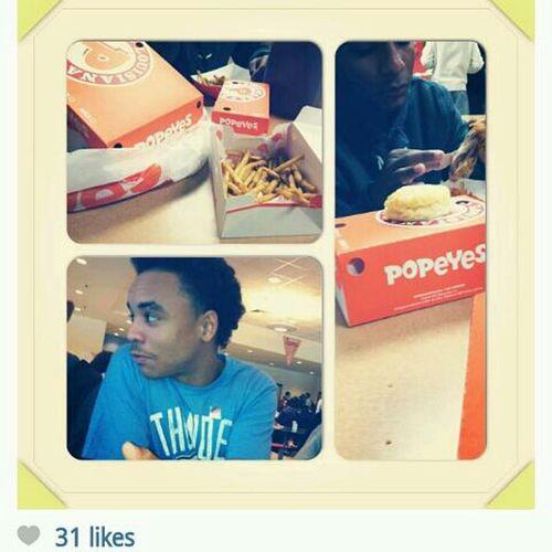 When Popeyes First Opened