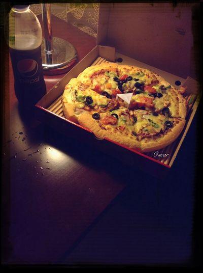 من تصويري تصويري  Canon ببسي  #بيتزا #pizza