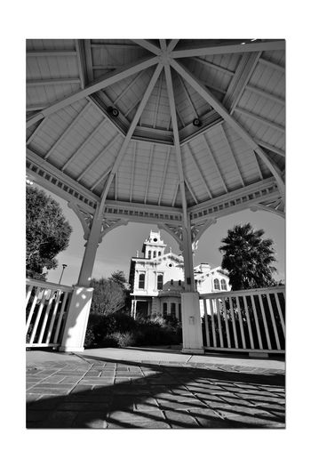 Estate Grounds 3 Meek Mansion Historic 10 Acre Estate Built 1869 William Meek Architecture Victorian Style: Second Empire, Italian Villa Bnw_friday_eyeemchallenge Gazebo Cupola Shadows _lights And Shadows_ Trees Monochrome_Photography Monochrome Black & White Black & White Photography Black And White Black And White Collection  At 1 Time 3,000 Acres Orchards Cherry, Apricots, Plums, Almonds Architectural Feature Arches Silhouettes Built Structure Dome Archway Architectural Column The Architect - 2018 EyeEm Awards