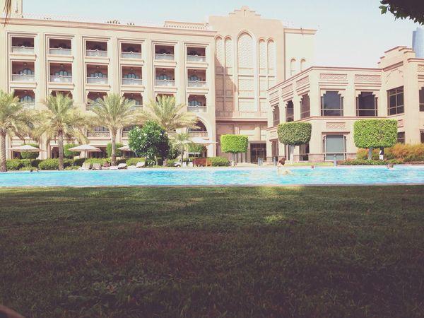 Abudhabi Emirates Palace Pool Vacation Throwback Sun Hotel Summer2014 Uae,abudhabi