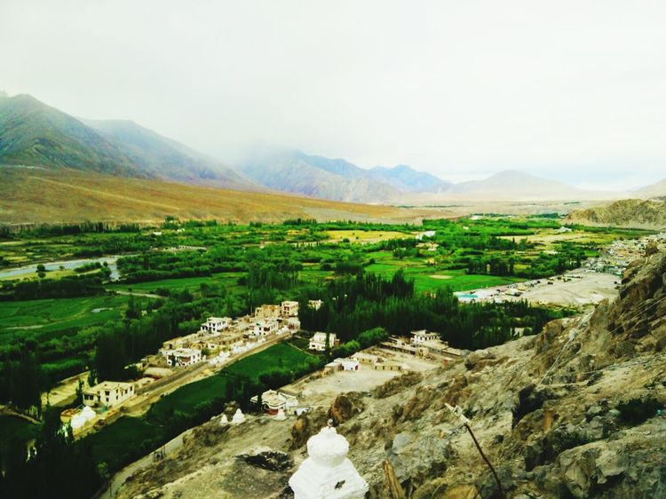 S4 Filter Leh Valley Edge Of The World from where i stood, it seemed no less than an oasis... Landscape_photography Incredible India Landscapes With WhiteWall
