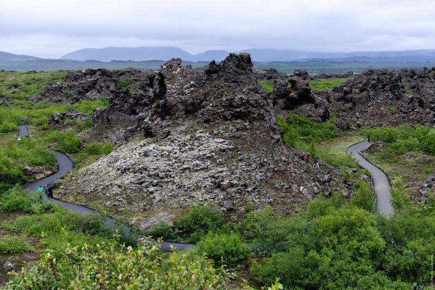 Mývatn, Dimmuborgir Dimmuborgir Iceland Myvatn Volcano