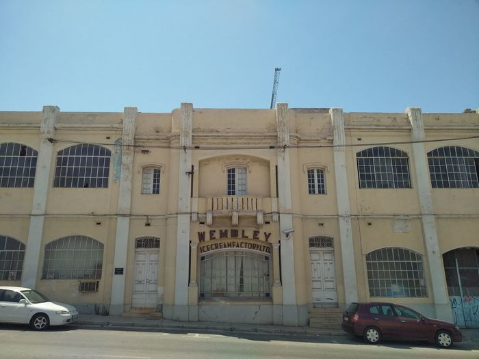Ice-making Works Abandoned Places Fenster Und Türen Malta Msida Verlassene Orte Wembley Abandoned Abandoned Buildings Architecture Building Building Exterior Built Structure Ice Cream Ice Cream Factory No People Window Windows And Doors