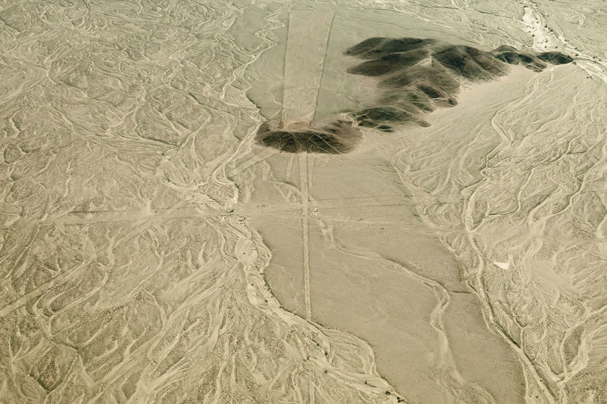Nasca Lines from the Air - Peru Desert Lines Nazca Peru Aerial View Nasca Nasca Lines Nazca Lines Sand