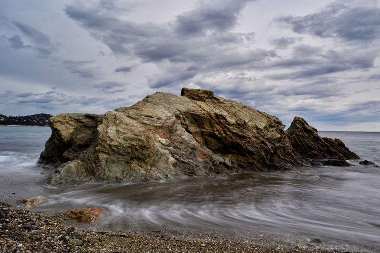 Landscape France Seascape Long Exposure Seaside Côte D'Azur Landscape_Collection Nature Mediterranean  Water Sand Wave