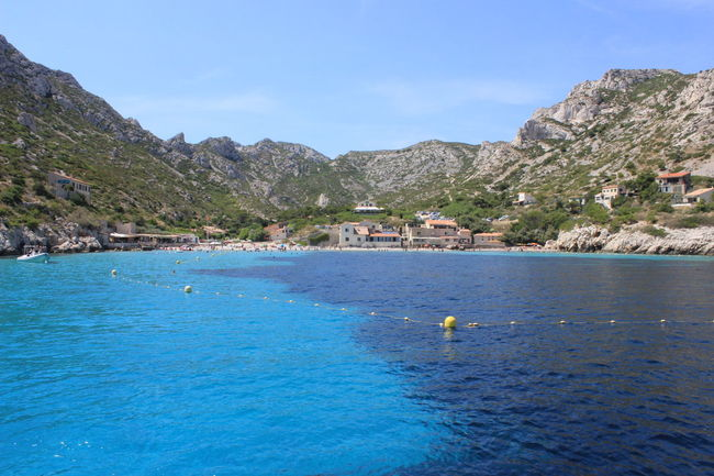 Adult Adults Only Beach Blue Calanque Coastline Day Landscape Marseilles Nature Outdoors People Relaxation Sky Swimming Vacations Water