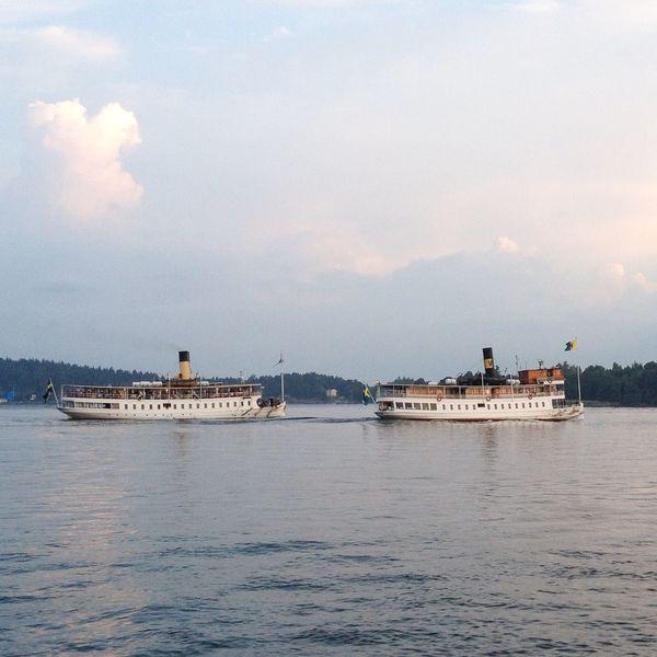 Steamships towards Stockholm EyeEm Nature Lover Eye4photography  Stockholm Archipelago MADE IN SWEDEN