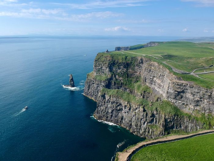 Cliffs of Moher, Ireland Cliffs Edge Cliffsandsea Cliffside View Cliffsofmoher Cliffs And Water Cliffs And Sea Cliffs Of Moher  Cliffs Cliff Landscape First Eyeem Photo The Great Outdoors - 2018 EyeEm Awards The Great Outdoors - 2018 EyeEm Awards