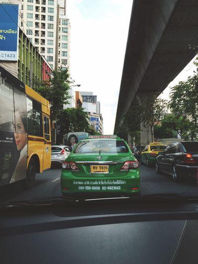 Rush hour in BKK Bangkok