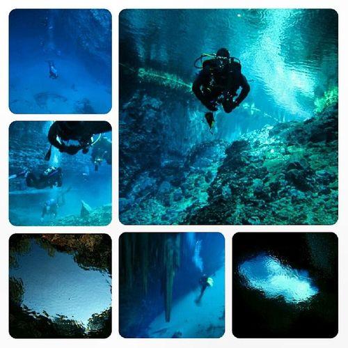Diving SCUBA Melisani Kefalonia Greece travel Beautiful