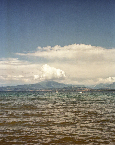 Clouds In The Sky Lake Garda Nature The Traveler - 2018 EyeEm Awards Beauty Beauty In Nature Clouds Italy Lake Lake View Mountain Water Waterfront